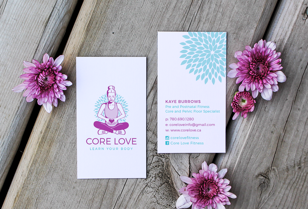 core-love-business-card-design