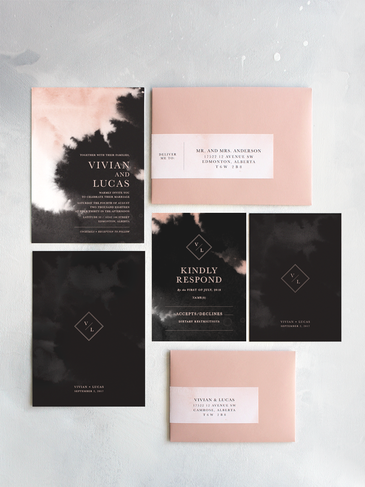 Vivian Invitation Suite